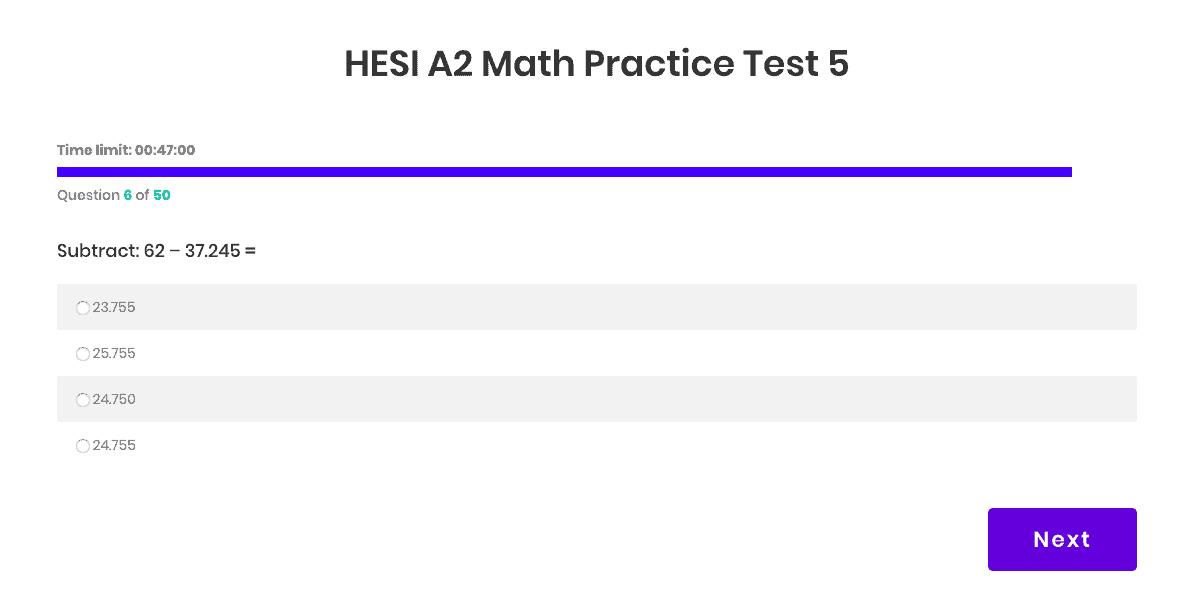 Hesi A2 Practice Test Pack Nursehub